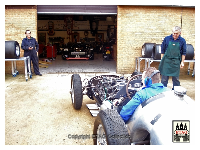 2012 BRM Celebration Day.1953 BRM P15 MK2 (3) Testing