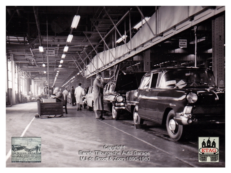 1958 Vauxhall Luton Factory visited by Dutch dealers (03)