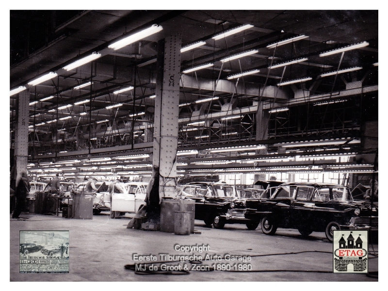 1958 Vauxhall Luton Factory visited by Dutch dealers (06)