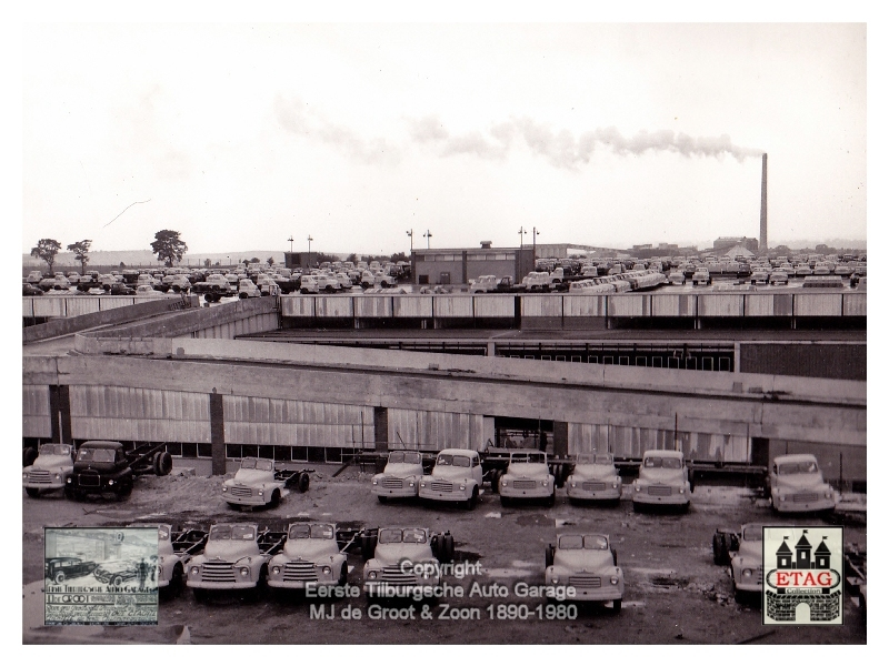 1958 Vauxhall Luton Factory visited by Dutch dealers (09)