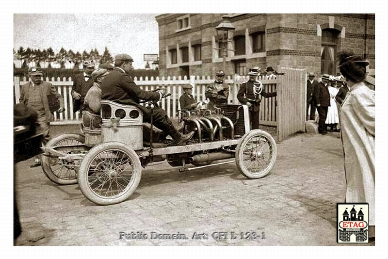 1904 Circuit Ardennes Darracq John Edmond #22 17th Depart(2)