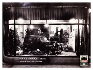 1935 Showroom Stationstraat 10-12 Tilburg Chevrolet