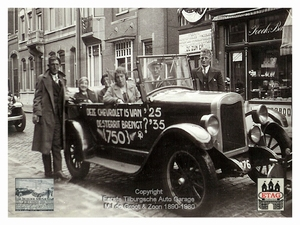 1935 Chevrolet Rally Stationstraat Tilburg Netherlands