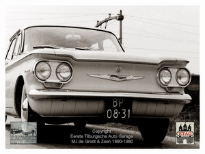 1960 Chevrolet Corvair (1) Front
