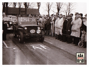 1951 Brabant Grensrit Startnummer 43 Willy Jeep