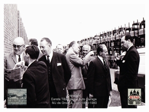 1967 Vauxhall Luton Factory visited by Dutch dealers (06)