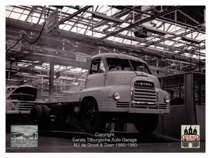 1958 Vauxhall Luton Factory visited by Dutch dealers (16)