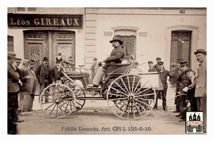 1894 Paris Rouen Benz Emile Roger #85.Finished 14th