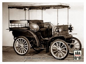 1899 Delahaye Closed Roof Top Wagonette