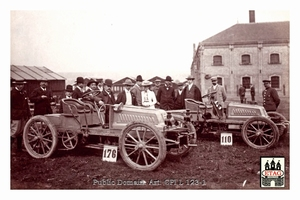 1902 Cote Chateau Thiery Mors Drivers? #176 #110 Team