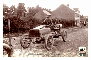 1904 Circuit Ardennes Darracq V Hemery #23 Depart Arlon 16th
