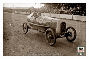 1923 Le Mans Salmson Andre Lombard #9 Grandstand