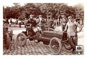 1904 Circuit Ardennes Darracq John Edmond #22 17th Arlon(1)