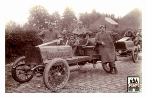 1904 Circuit Ardennes Darracq John Edmond #22 17th Arlon(2)